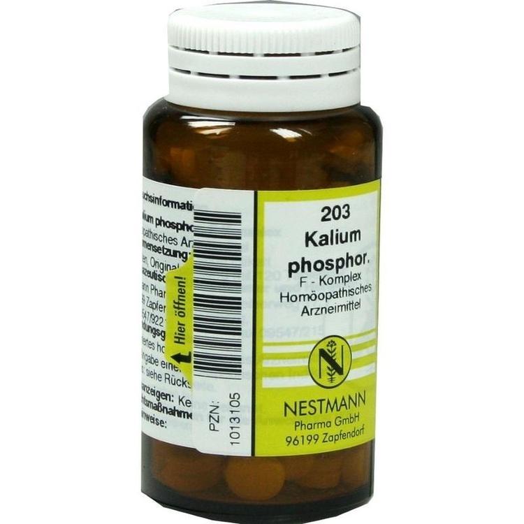 203 Kalium phosphor. F Komplex